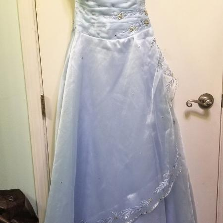 Baby blue prom / graduation dress / gown for sale  Canada