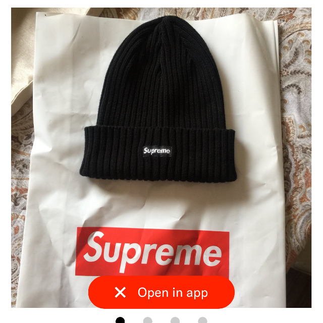 61f0a9fcae3 Find more New Supreme Beanie. Original Price  40 for sale at up to ...