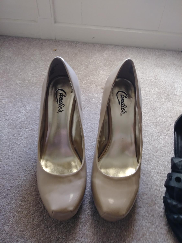 bbd38170137 Candies high heels size 9