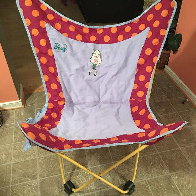 Bratz Virginia Tech Colors Folding Chair