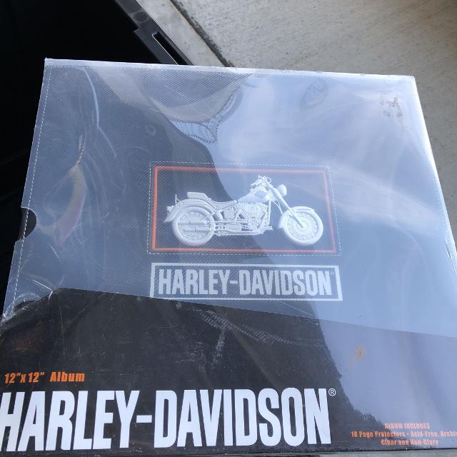 Harley Davidson scrap book