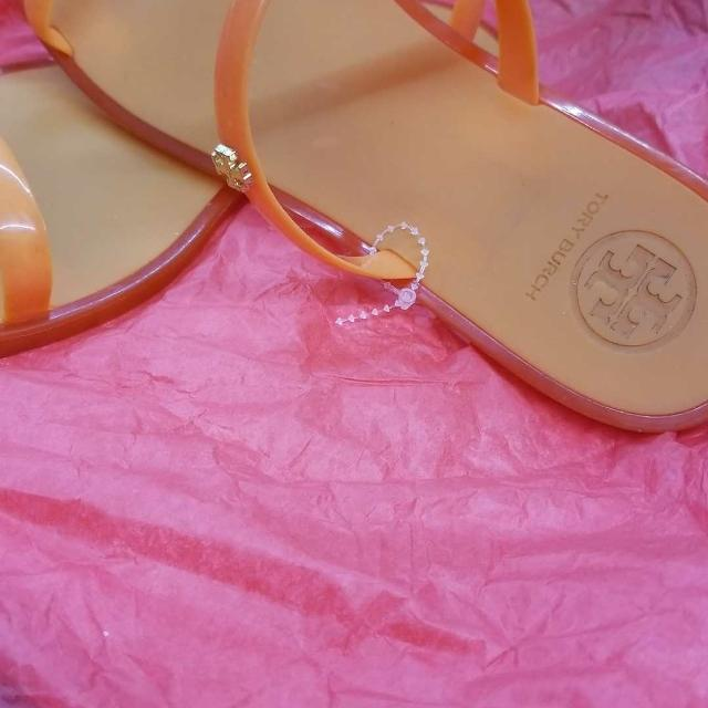 2c09f2933e83 Best Tory Burch Jelly Sandals ((authentic)) for sale in Brazoria County