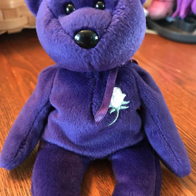211482a1f1e Best Ty Beanie Baby Princess The Purple Bear for sale in Gardner ...