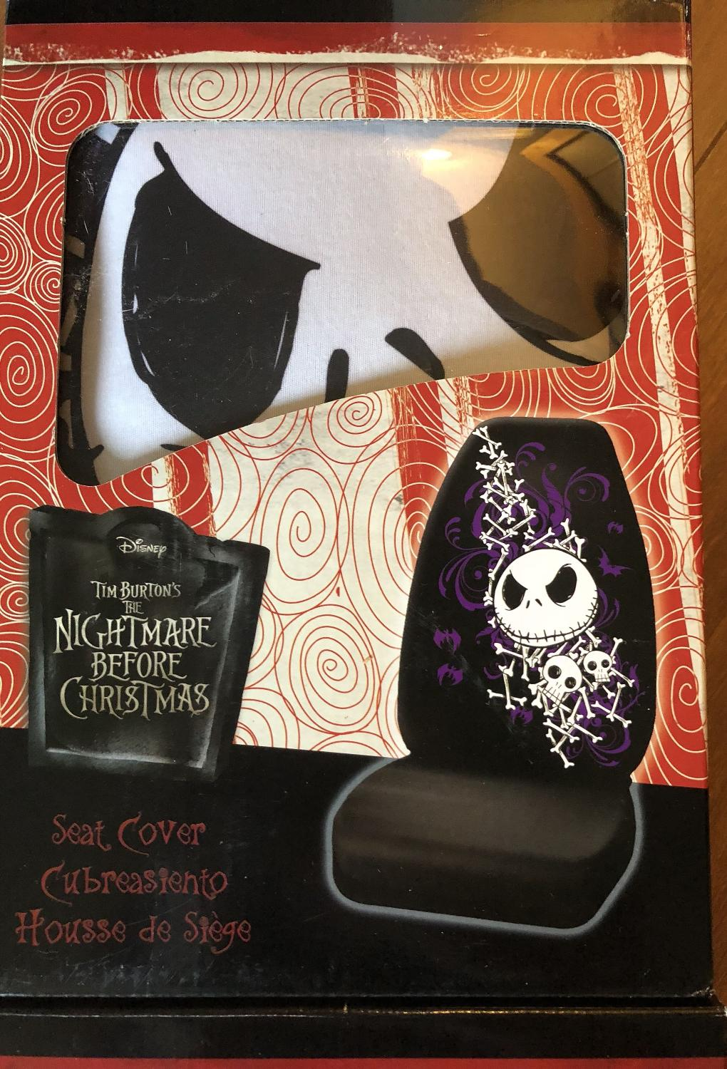 Best Nightmare Before Christmas Car Seat Covers for sale in Duncan ...