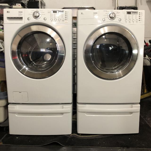 Find More Lg Washer Dryer And Matching Pedestals For Sale