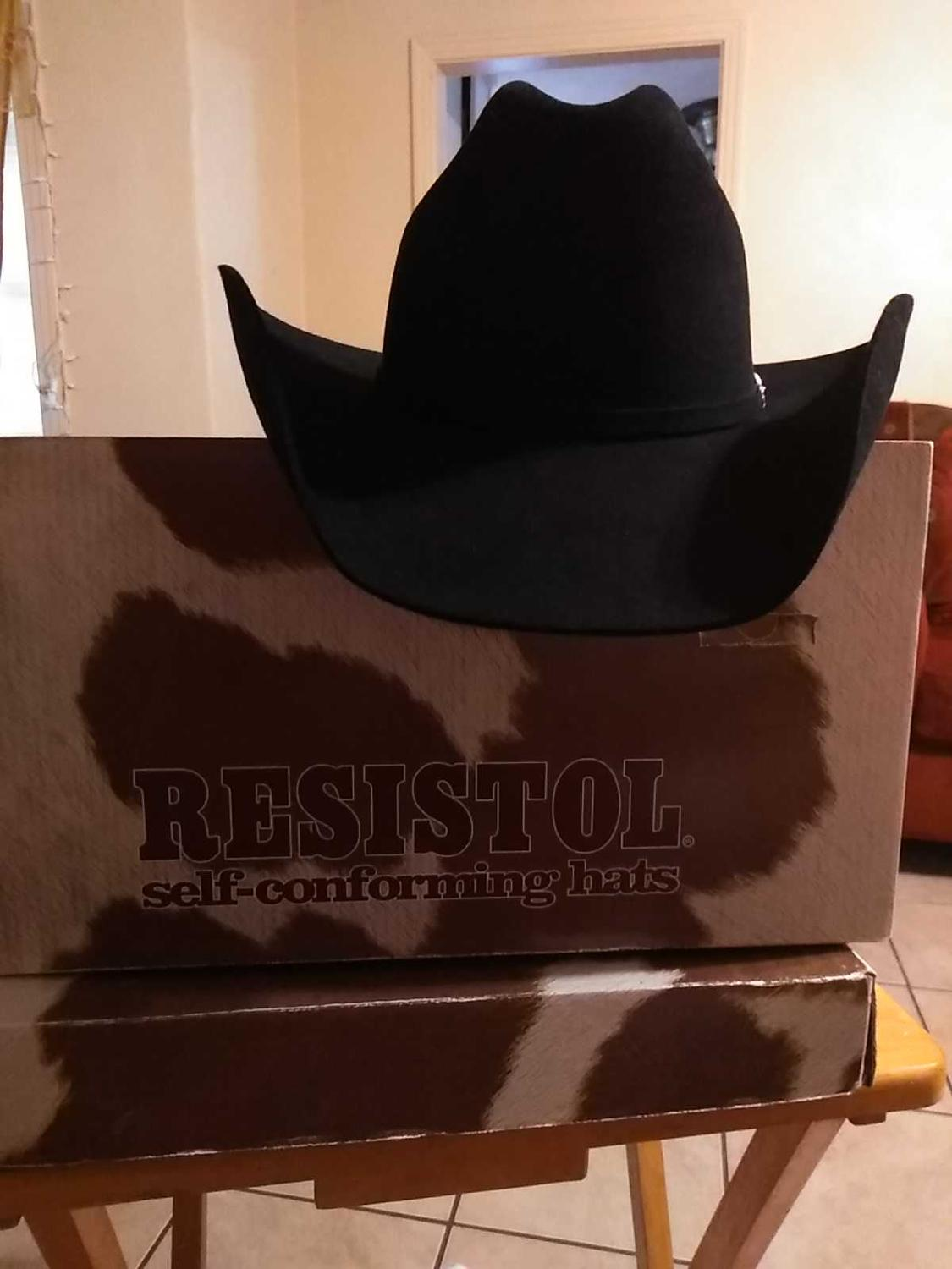 2b668bbd351 Find more Resistol 5x Self Conforming Challenger Cowboy Hat for sale ...
