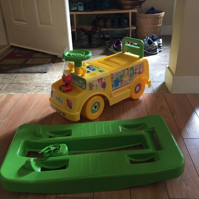 Find more Sesame Street Ride On And Push Bus for sale at up