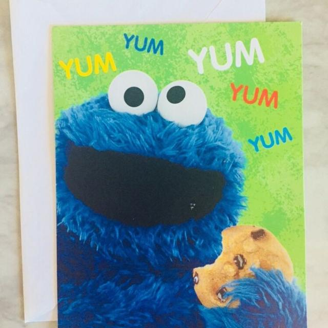 Best Cookie Monster Birthday Card For Sale In Oshawa Ontario For 2018