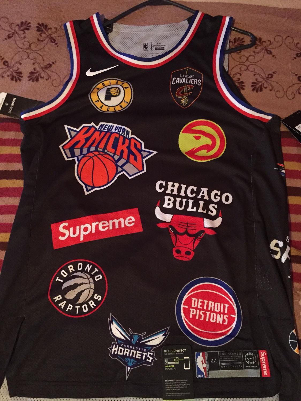 newest 971dd e5af2 Supreme NBA Jersey