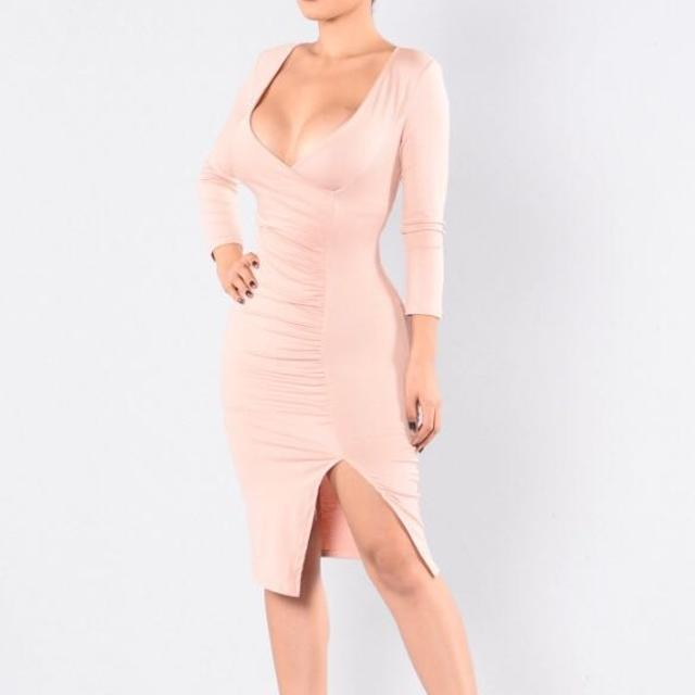 984ce3fc36e37 Best Fashion Nova - Blush Pink Dress - New With Tags for sale in  Dollard-Des Ormeaux, Quebec for 2019