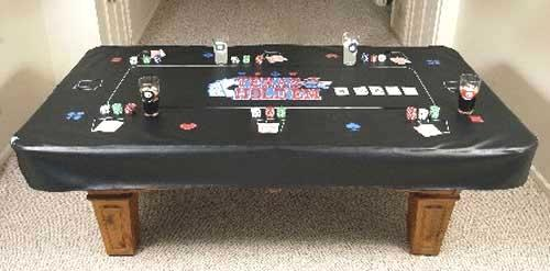 Best Texas Holdem Pool Table Cover For Sale In Marion Ohio - Custom billiard table covers