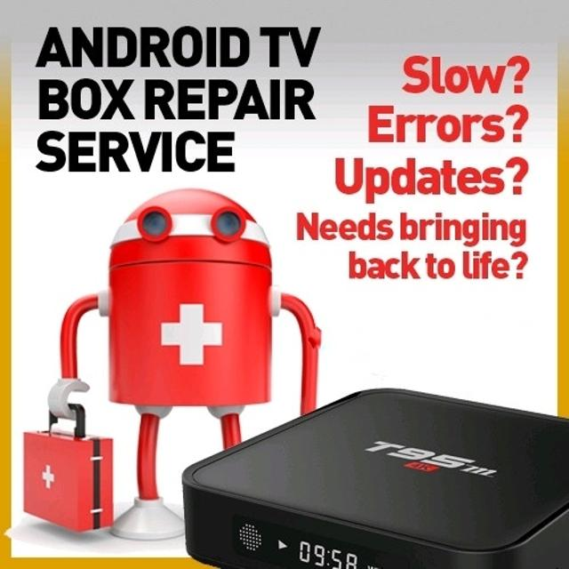 KODI-Showbox-Terrarium TV program - Repair