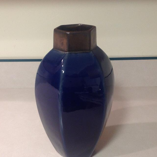 Find More Navy Blue Heavy Ceramic Vase For Sale At Up To 90 Off