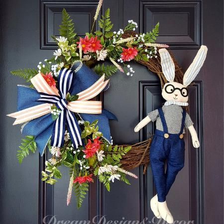 Easter vine wreath for sale  Canada