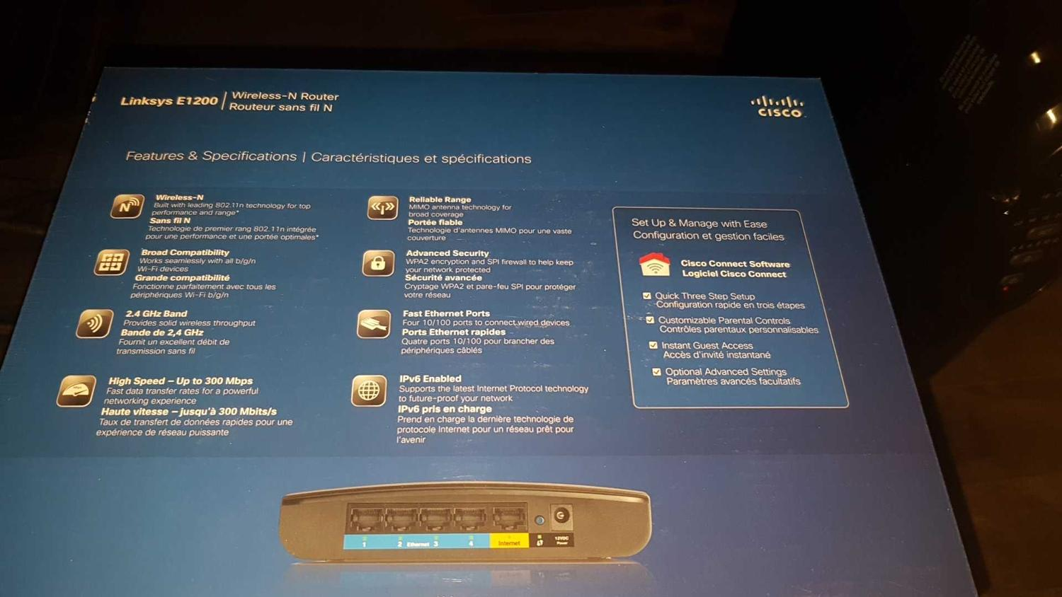 Cisco Linksys E1200 Wireless N Router Software  Cisco