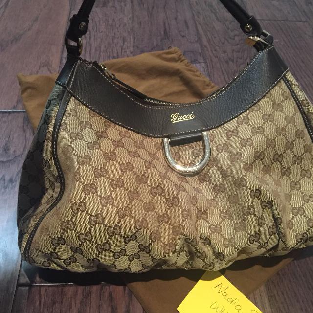 5b6aeaa487f Best Gucci D-ring Abbey Bag Hobo handbag for sale in Clarington ...