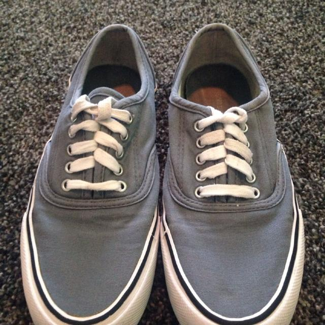 27104d8159 Find more Gray Knock Off Vans. Clean And Freshly Washed. Porch Pick ...