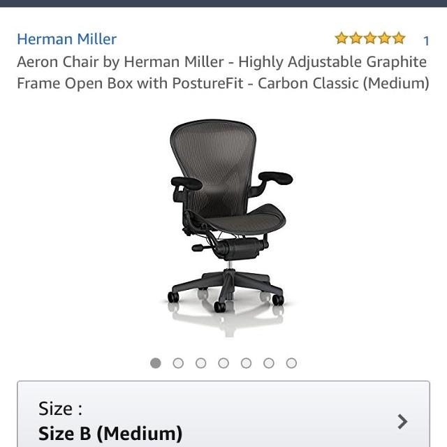 best herman miller aeron office chair for sale in nanaimo british