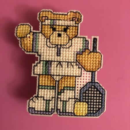 Racquet player magnet for sale  Canada