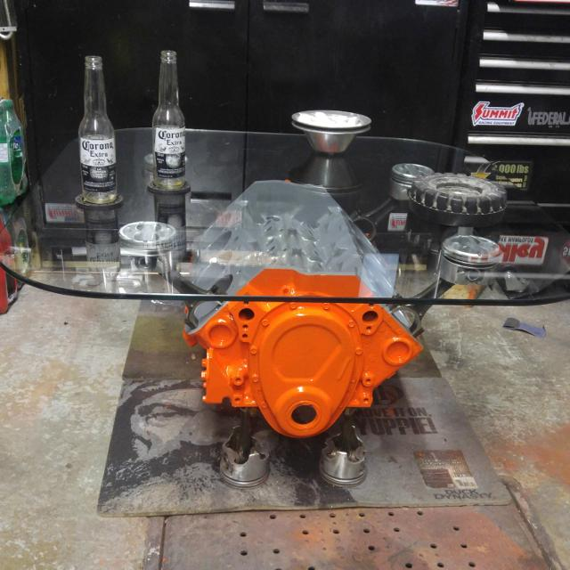 Find More Real Small Block Chevy V8 Motor Coffee Table For Sale At