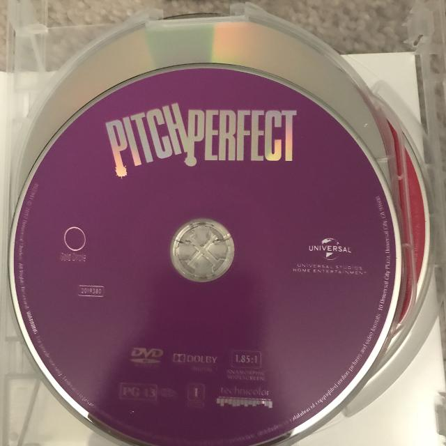 Pitch perfect 1, 2 and 3