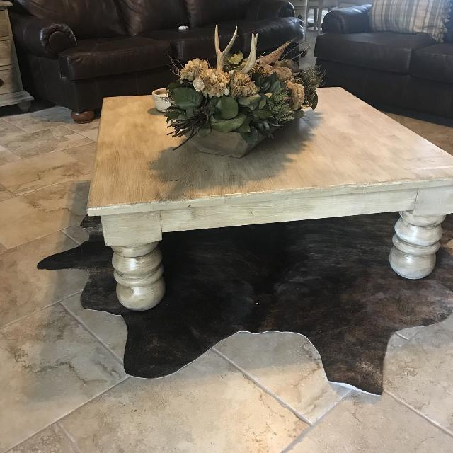 Find More Ft X Ft Cream Glazed Coffee Table For Sale At Up To Off - 4ft coffee table