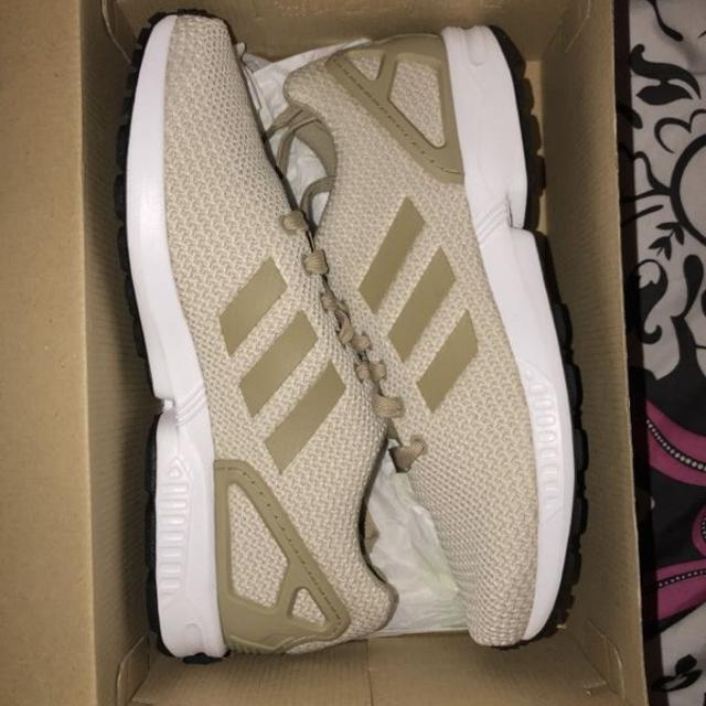 wholesale dealer 5d62b 37e0a Wheat Adidas ZX FLUX