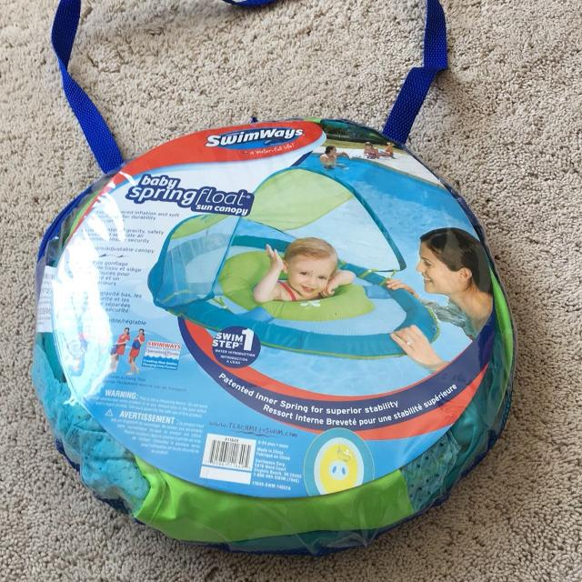 Best Swimways Baby Spring Float Sun Canopy For Sale In