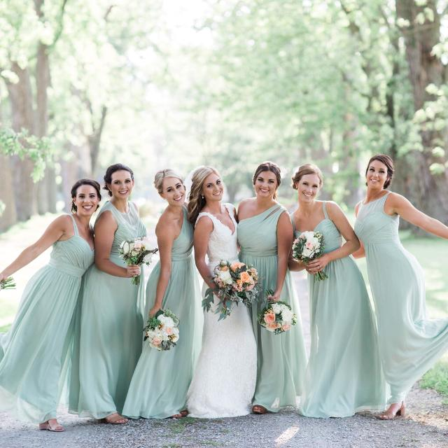 d53a7fb4a5a Best Sage Green Bridesmaid Dress for sale in Clarington