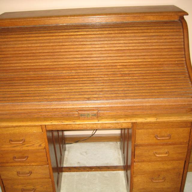 Antique Roll Top Desk - Best Antique Roll Top Desk For Sale In Charleston, West Virginia For