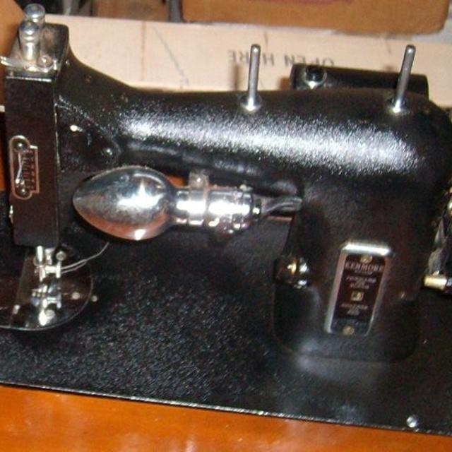 Best Vintage Kenmore Sewing Machine In Wood Cabinet For Sale In Amazing Antique Kenmore Sewing Machine With Cabinet