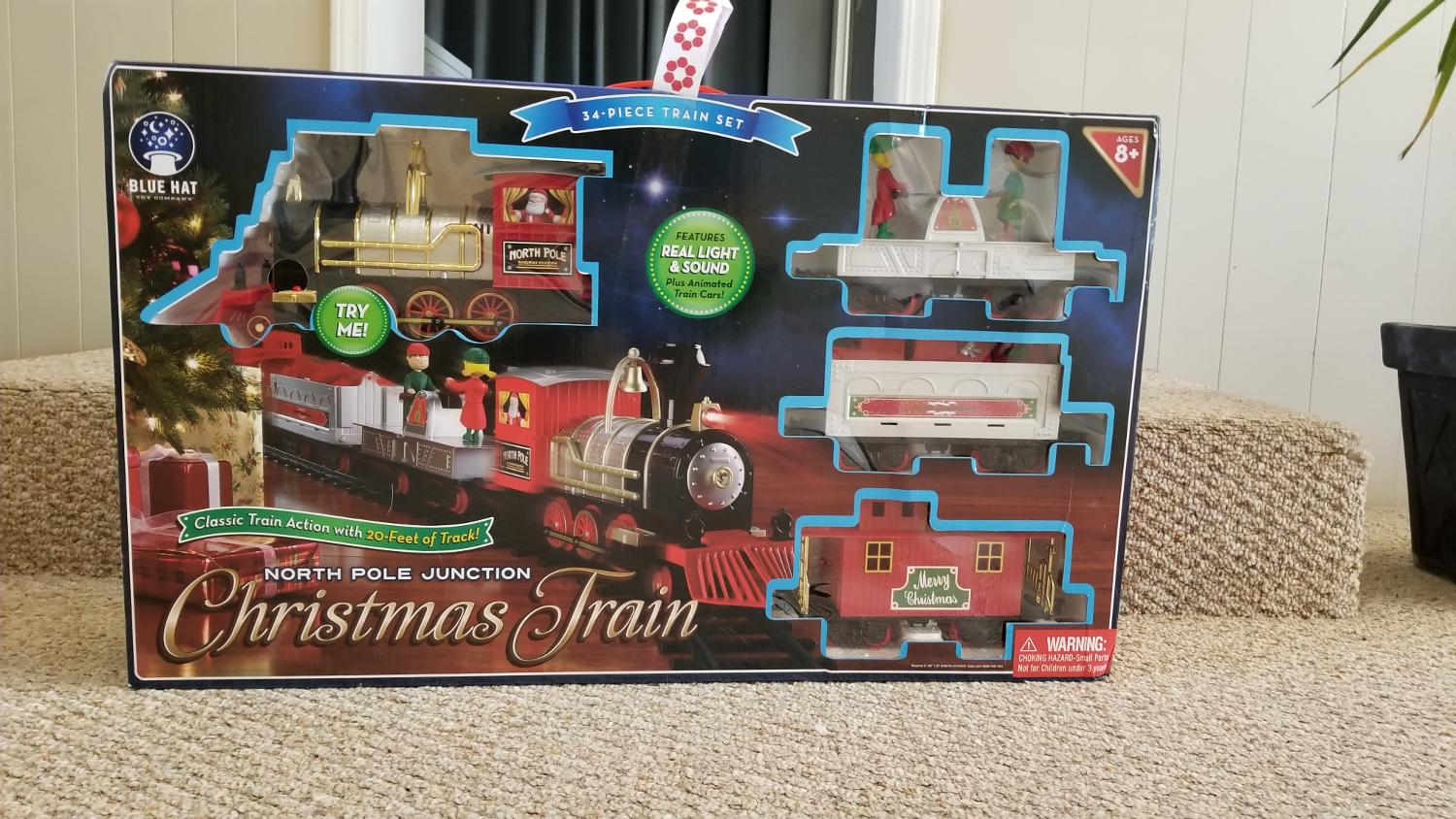 Find more Blue Hat North Pole Junction Christmas Train Set - 34 ...