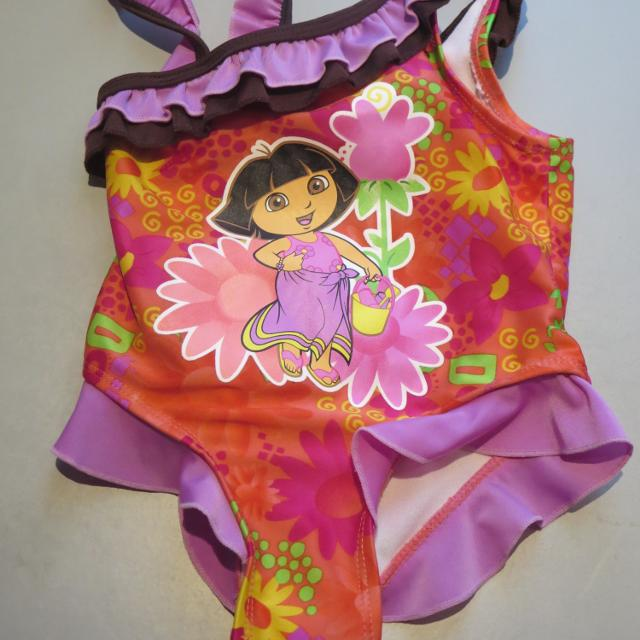 f70352caa46ae Find more Euc Dora The Explorer Bathing Suit Size 18m for sale at up ...