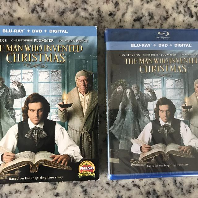 The Man Who Invented Christmas Dvd.New Blu Ray Dvd Movie The Man Who Invented Christmas Charles Dickens Story