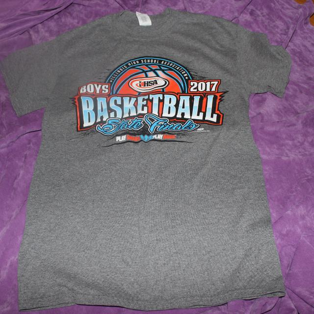 1500123b459 Best 2017 Ihsa Boy Basketball Short Sleeve Shirt Size Small for sale in  Dekalb County