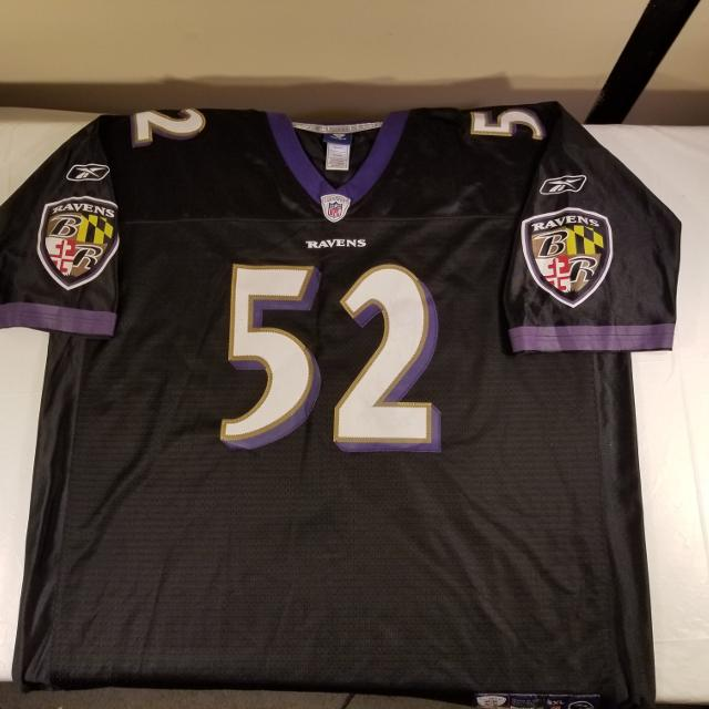 free shipping 12317 30b31 NFL Authentic 3X Baltimore Ravens Jersey