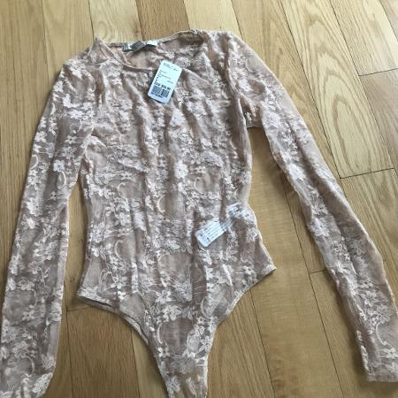 Lace beige thong bodysuit for sale  Canada