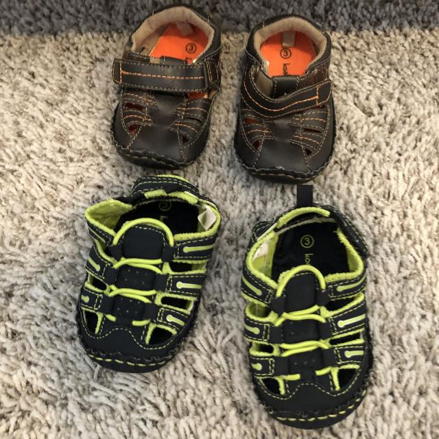 Find more 2 Pairs Of Toddler Boy Shoes Size 3 for sale at up to 90% off 992882a49