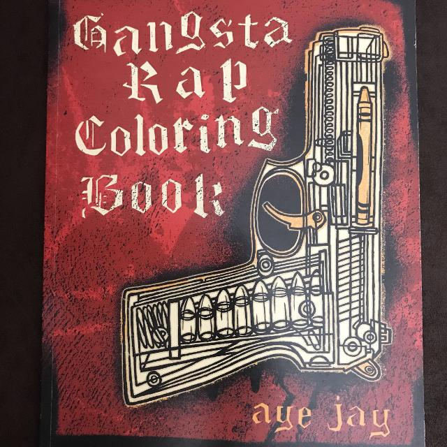 Find more New Gangsta Rap Coloring Book for sale at up to 90% off