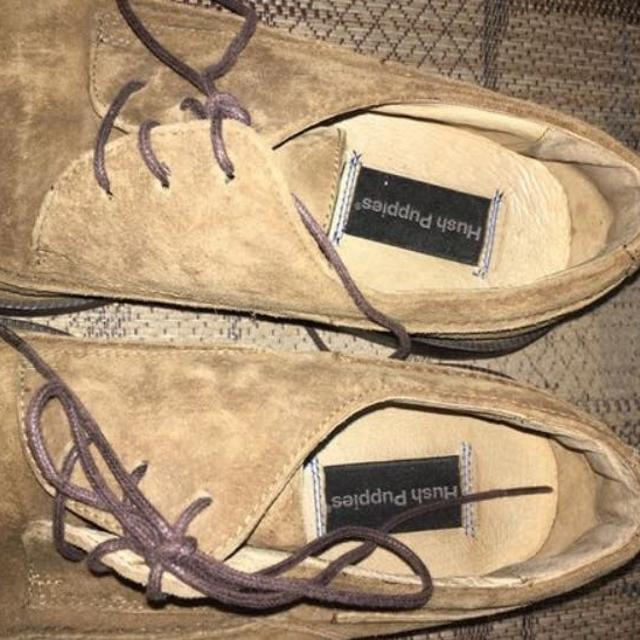 Suede Hush Puppies Shoes