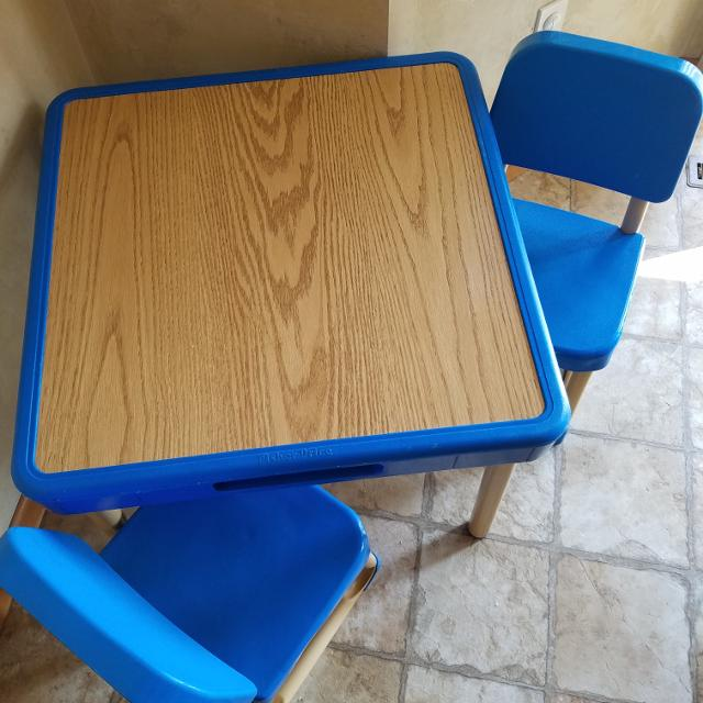 Find more Fisher-price Table And Chair Set for sale at up to 90% off