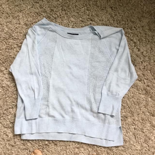 ad1d9cd01 Find more American Eagle Soft Baby Blue Sweater Medium for sale at ...