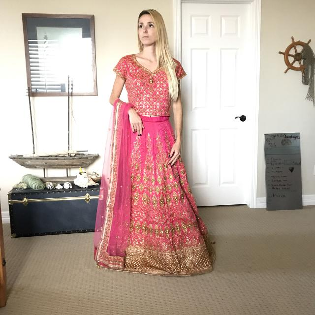 Best Authentic Indian Bridal Lehenga Wedding Dress 100% Silk ...