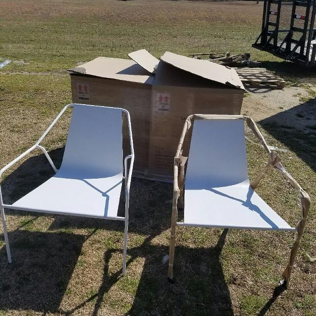 New Metal Target Patio Chairs
