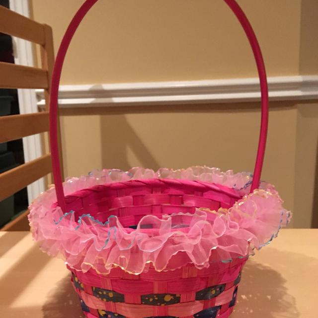 Best pink easter basket for sale in oshawa ontario for 2018 pink easter basket negle Choice Image