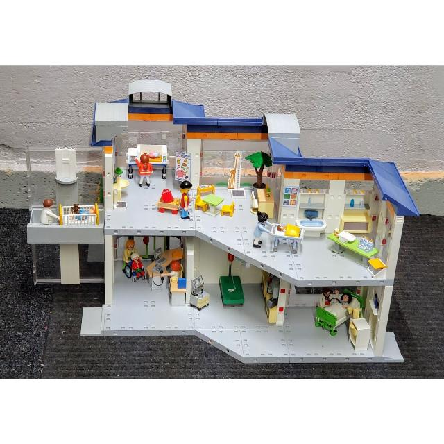 Find More Playmobil Hospital Clinic 4404 Ambulance 4221 For