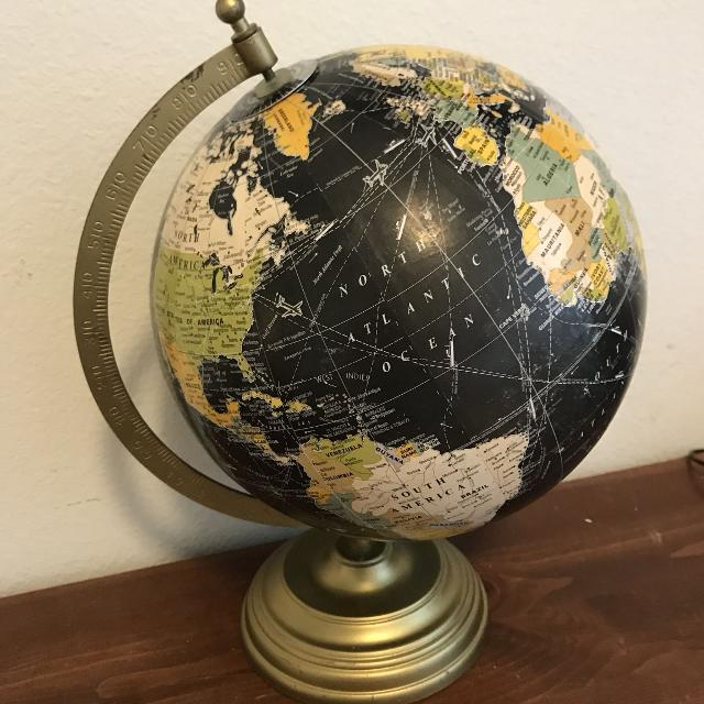 Find more globe map world decor for sale at up to 90 off globe map world decor gumiabroncs Images