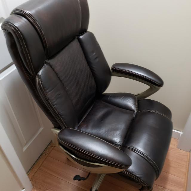 find more euc brown executive office chair for sale at up to 90 off