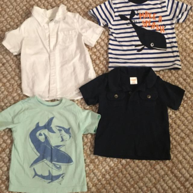 089374318036 Find more Boy Summer Shirts 12-18 Months for sale at up to 90% off