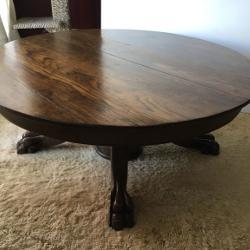 Best budweiser pub table for sale in jefferson city missouri for 2018 1930s oak clawfoot table watchthetrailerfo